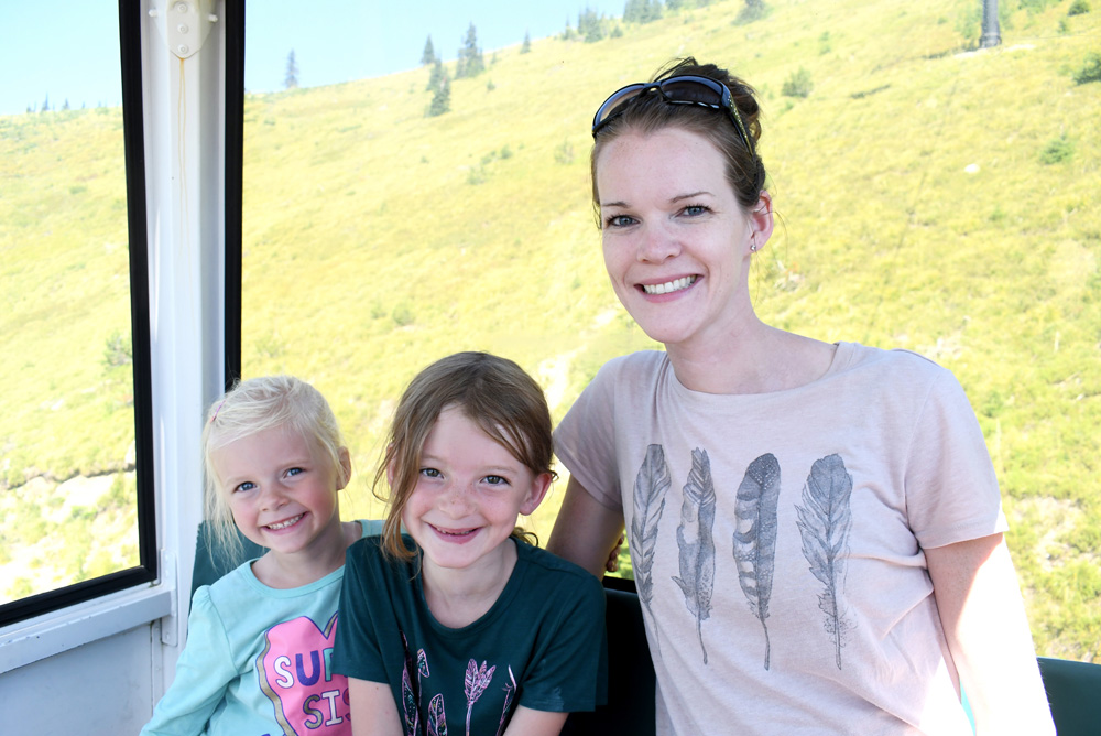 Family activities in Montana scenic Gondola ride