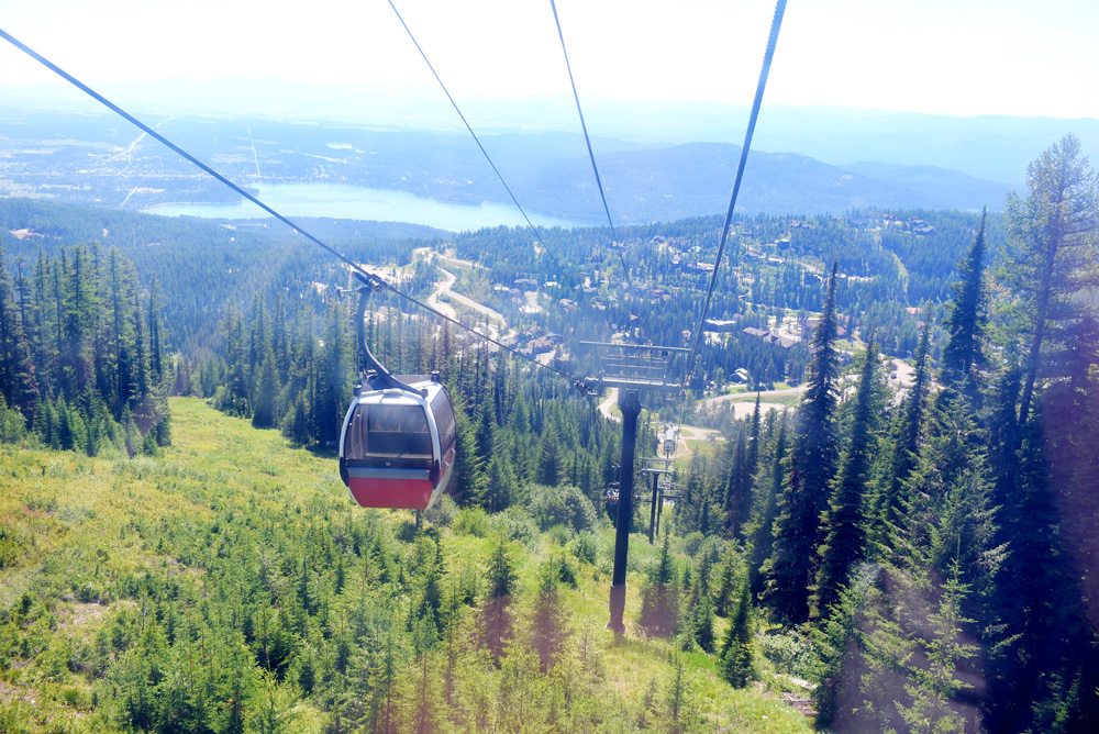 Whitefish Mountain Resort activities scenic Gondola ride