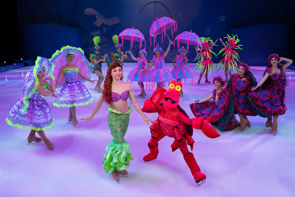 Disney on Ice Mickey's Search Party The Little Mermaid
