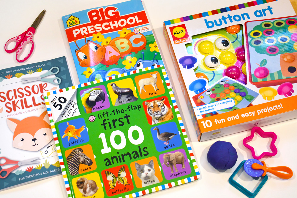 Fun Preschool Workbooks and Activities for 3-year-olds