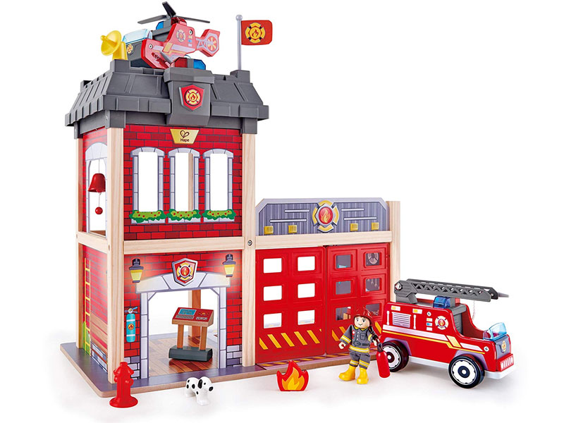 Hape Toys Fire Station kids holiday gift guide