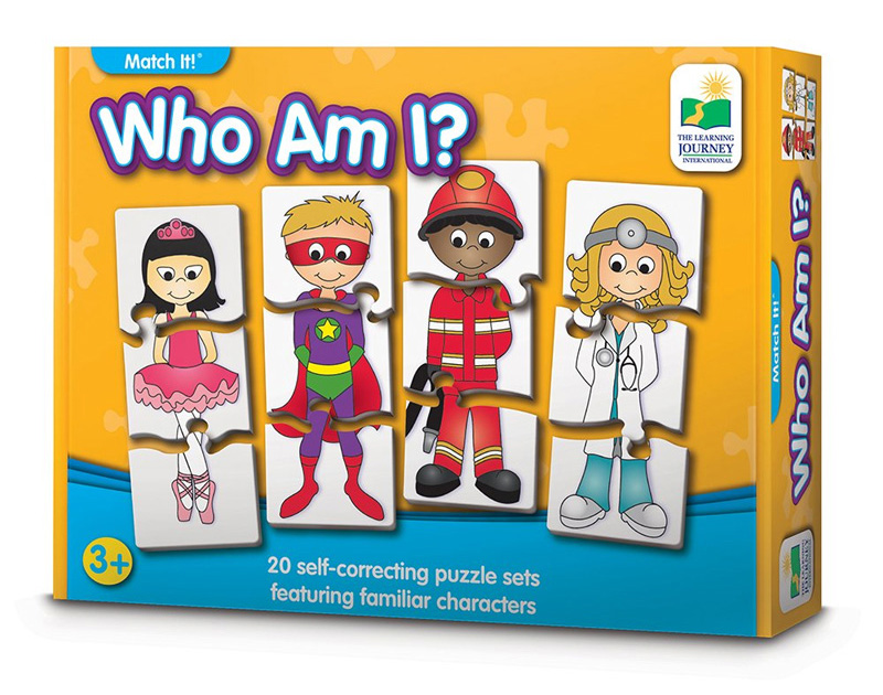 Learning Journey Who Am I character puzzle matching kids gift ideas
