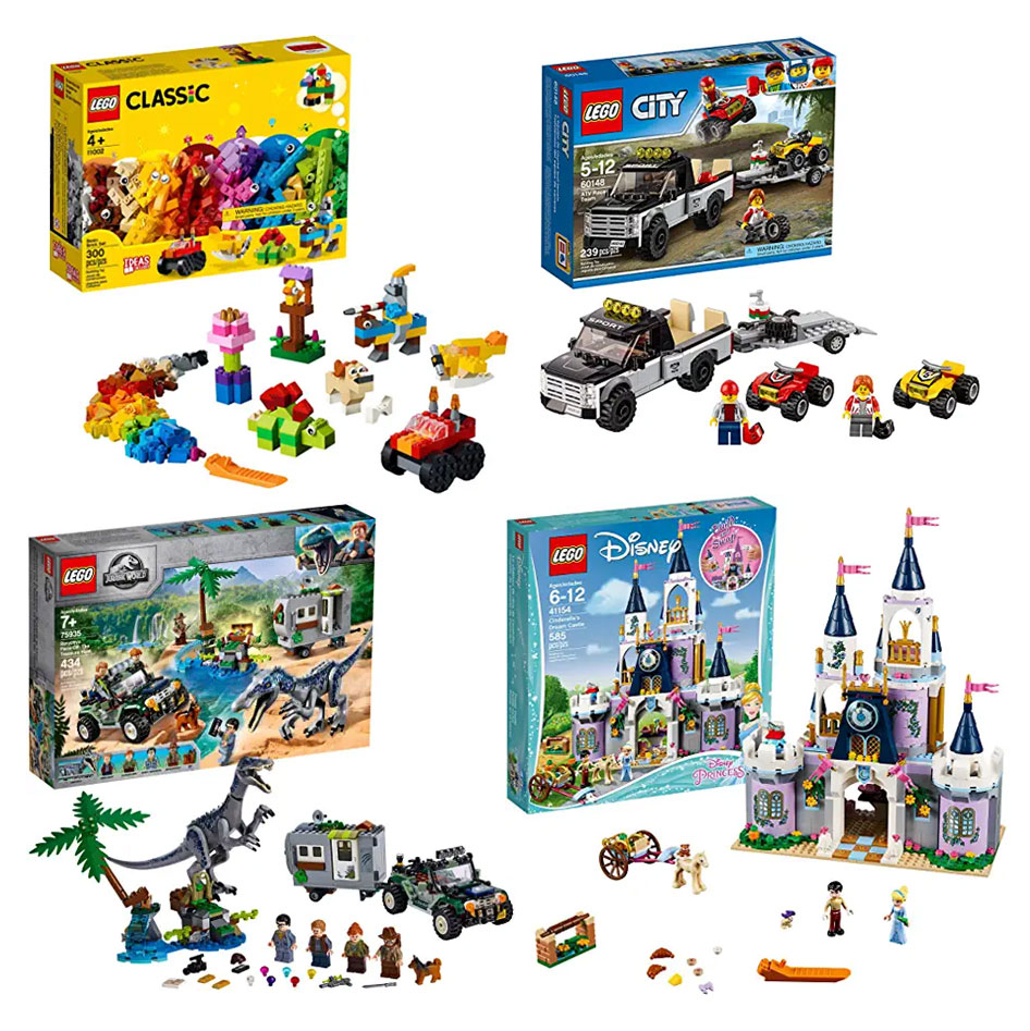 Lego Building Sets for kids holiday gift guide