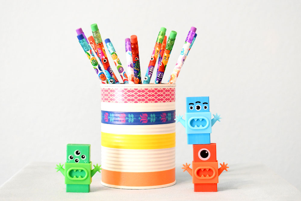 Ooly Monster Pencils and Erasers kids school supplies