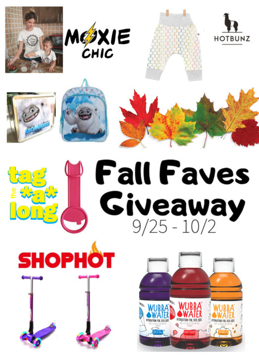 Toddler Fall Faves Giveaway – Ends 10/2