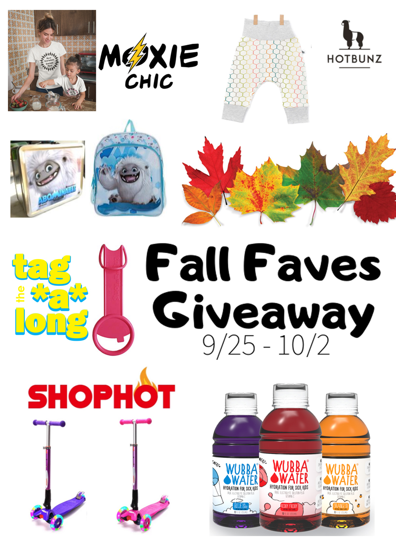 Toddler Fall Faves Giveaway – Ended