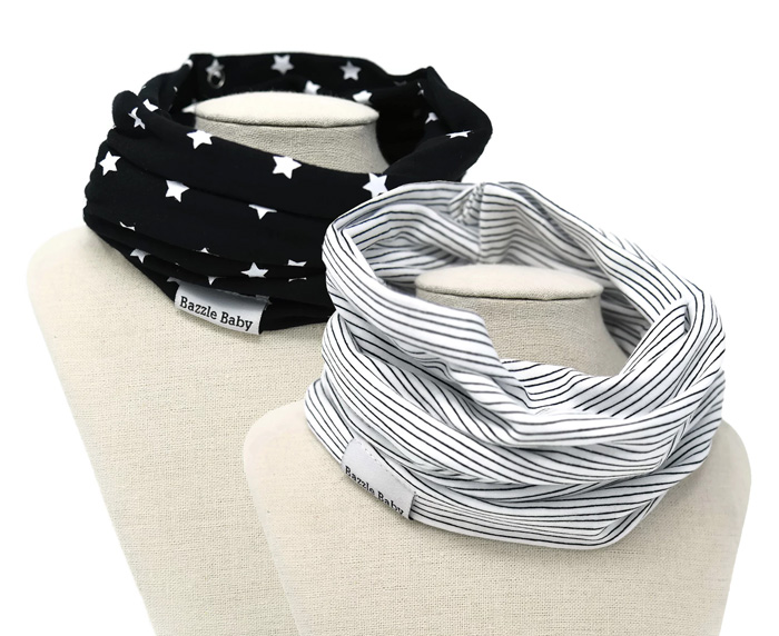 BandoBib infinity scarf-style bibs - Holiday Gift Guide Giveaway