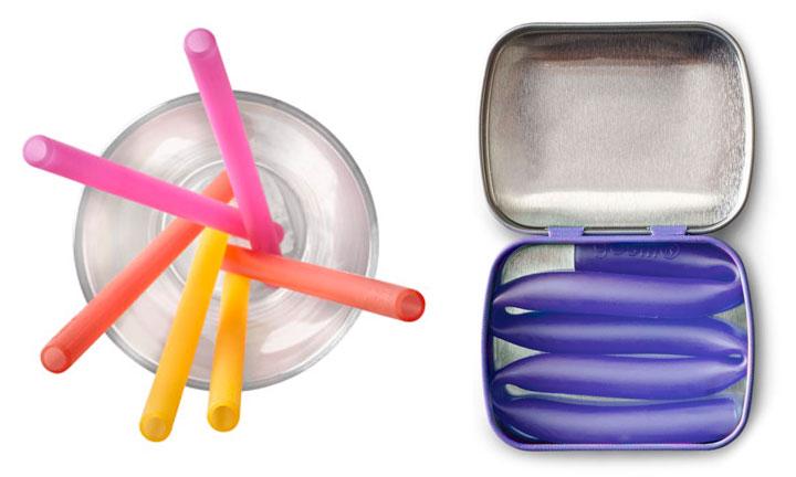 GoSili Silistraw silicone reusable straws holiday gift guide