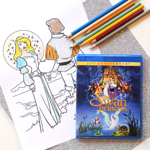 Swan Princess 25th Anniversary + Coloring Pages