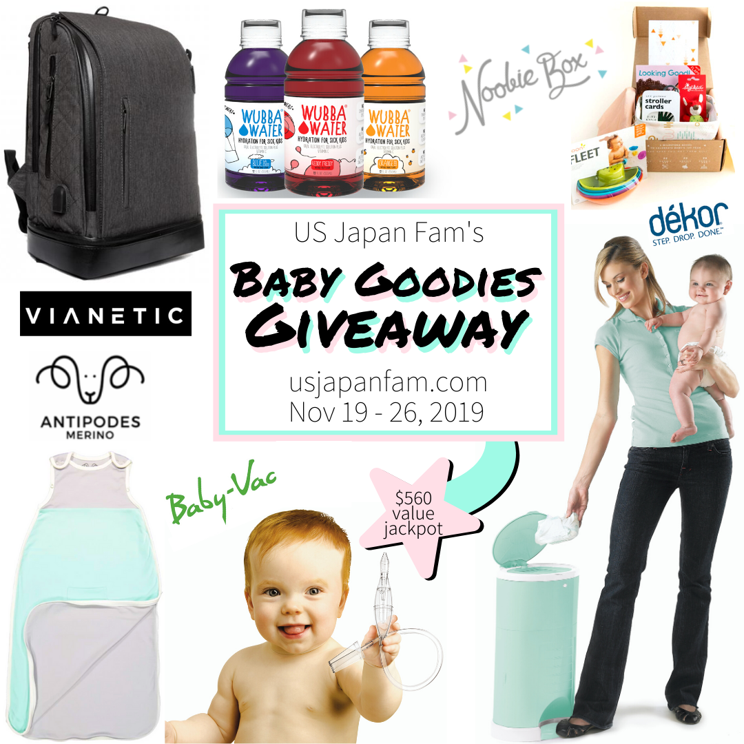 Baby Goodies Giveaway ($560 Value Jackpot) Ends 11/26