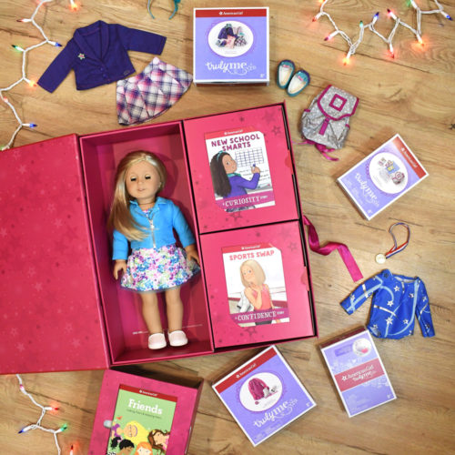American Girl customized gift box