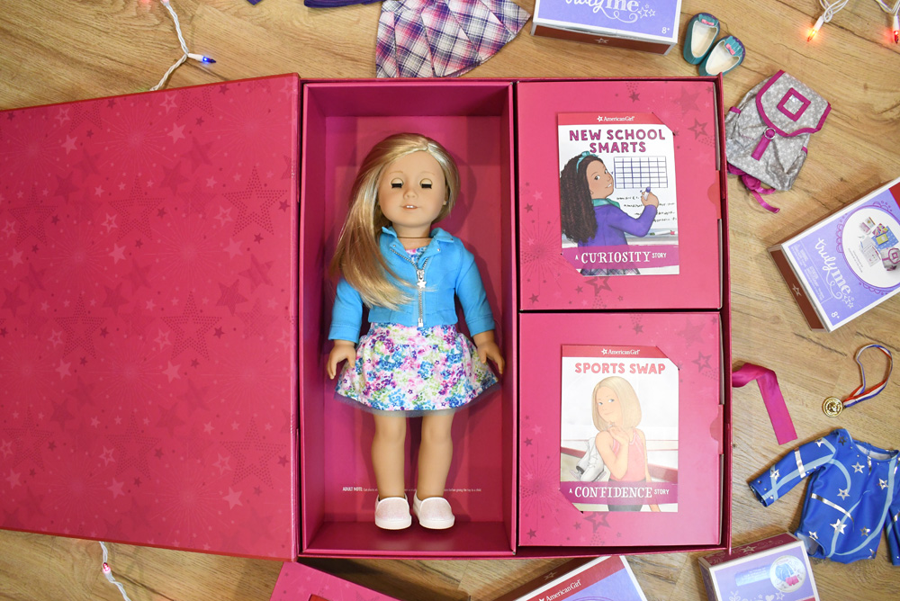 American Girl customized gift box experience