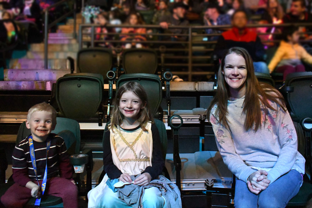 Disney on Ice Mickey's Search Party family night out