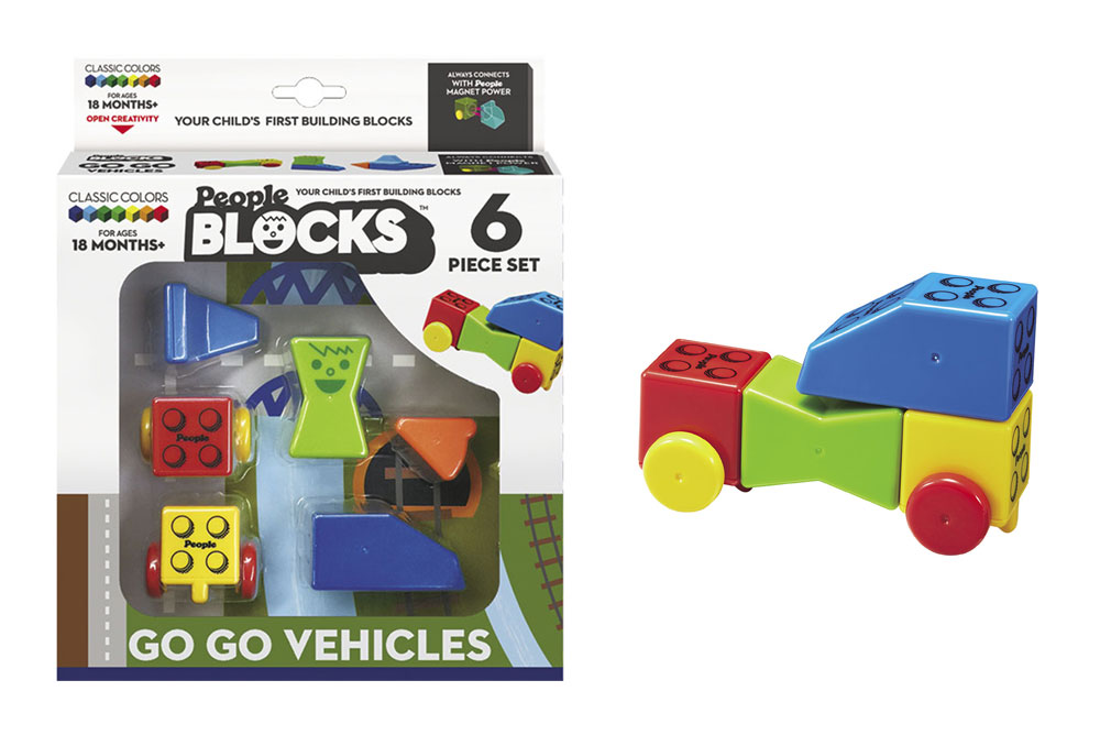 Magnetic People Blocks Companion Set stocking stuffer giveaway