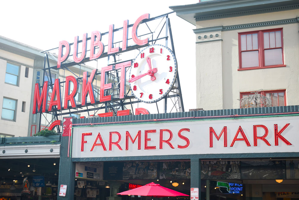 Pike Place Market Downtown Seattle things to do with kids