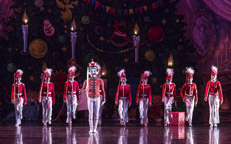 Spokane Symphony and State Street Ballet Nutcracker soldiers