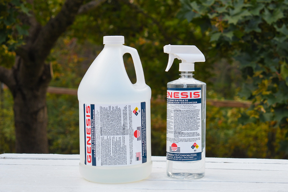 Genesis 950 eco-friendly household cleaner