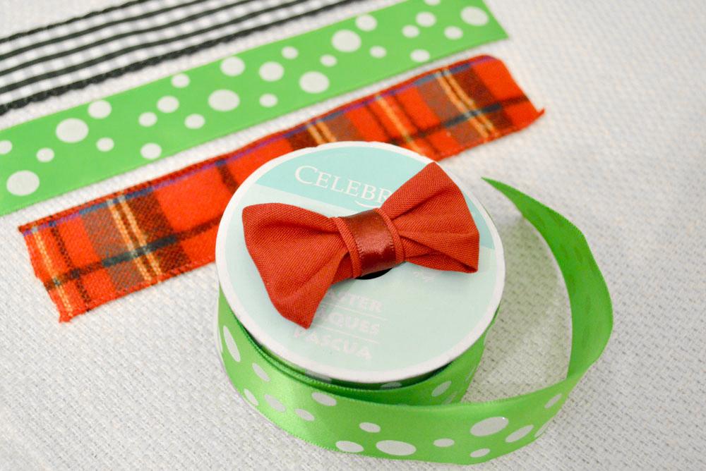How to Make Cute Ribbon Baby Bow Ties