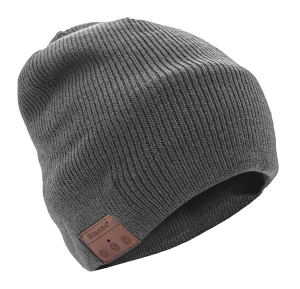 beanie hat with built in Bluetooth headphones