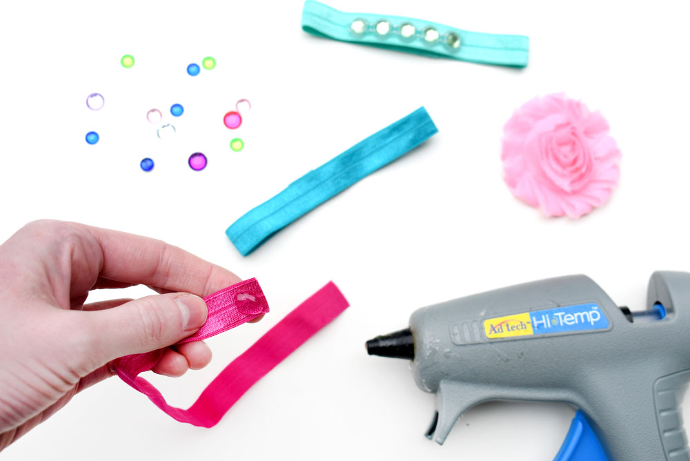 How to make beautiful elastic doll headbands