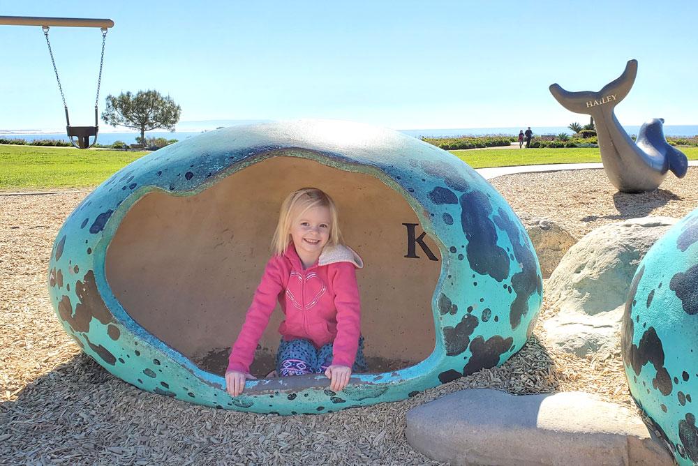 Dinosaur Caves Park Pismo Beach playground