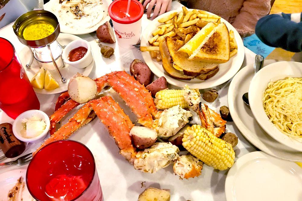 Pismo Beach cracked crab restaurant