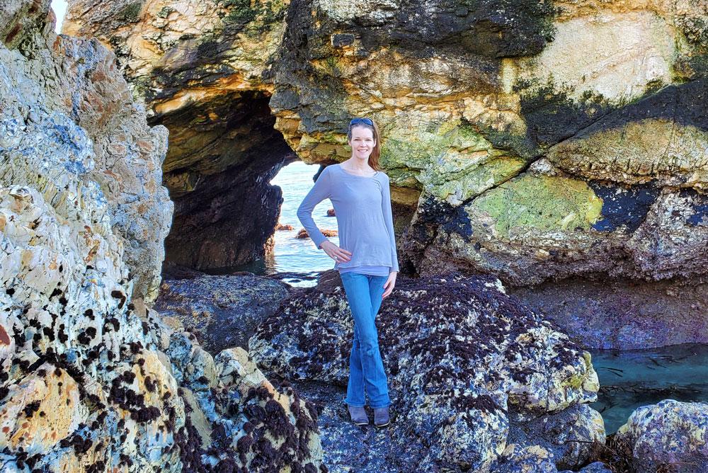 Margo Dodd Park Beach rock scramblingMargo Dodd Park Beach rock scrambling