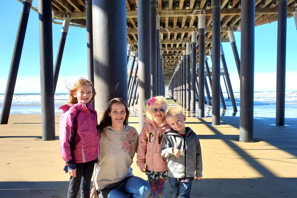 Walk down to Pismo Beach pier