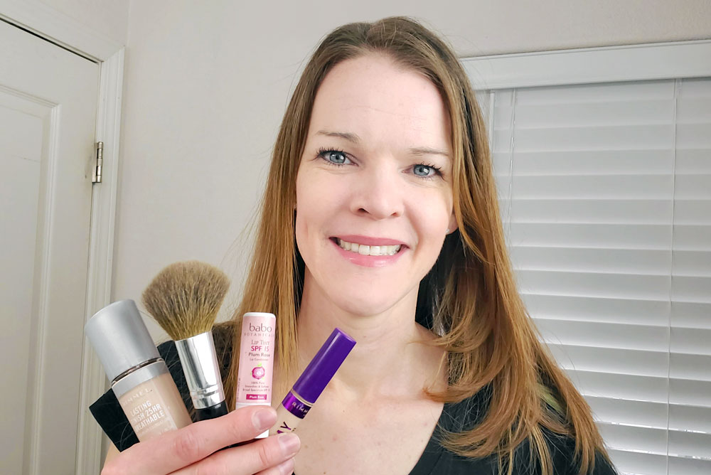 Easy and budget friendly makeup routine Katie Wallace