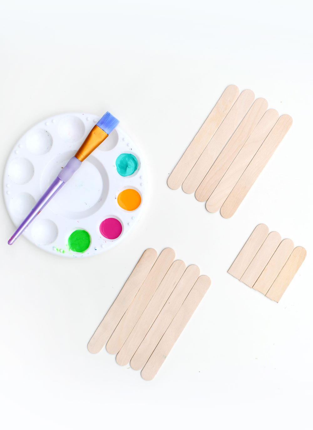 How to make popsicle stick monsters