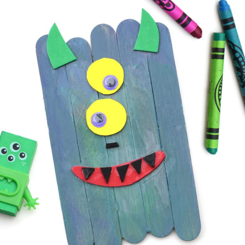 Popsicle Stick Monsters Creative Kids Craft