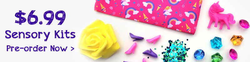 Princess Sensory Kit creative kids activity