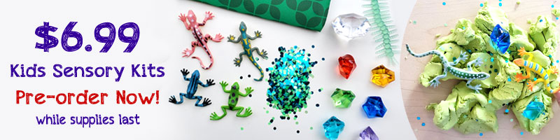 Rainforest Sensory Kit creative kids activity