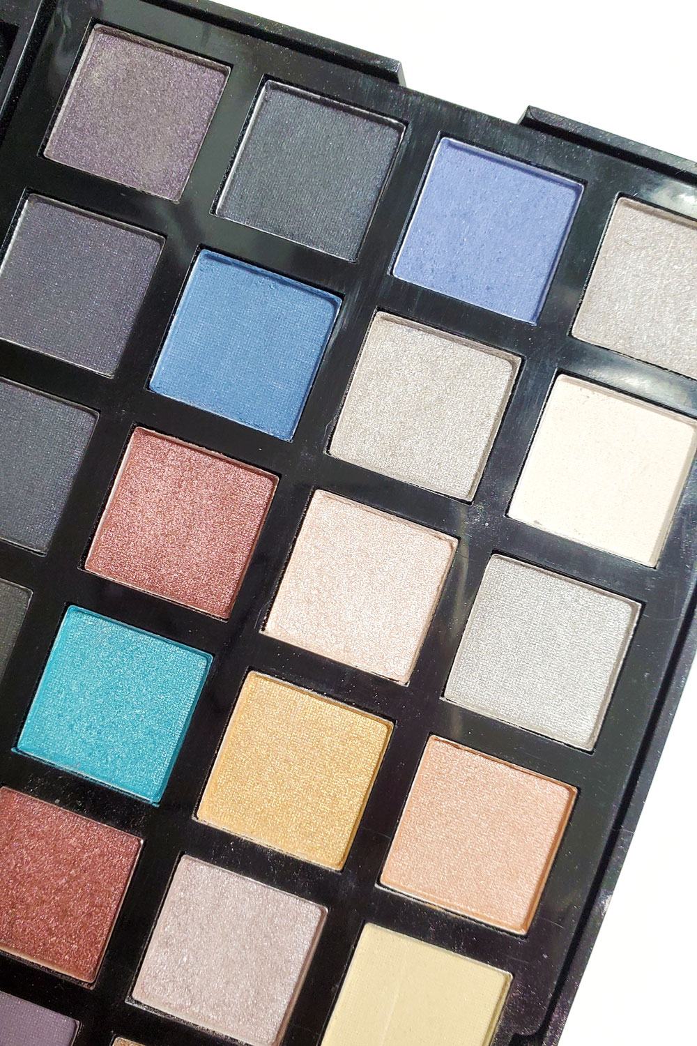 $50 makeup routine shimmery eye shadow